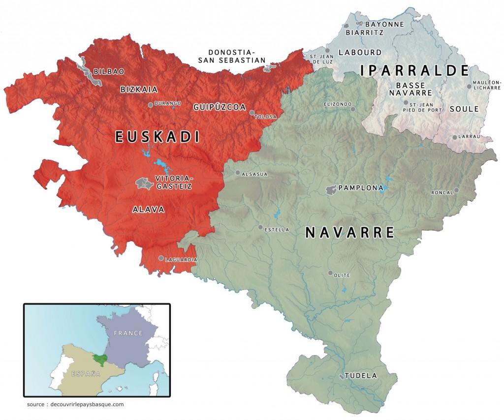 Carte Euskal Herria