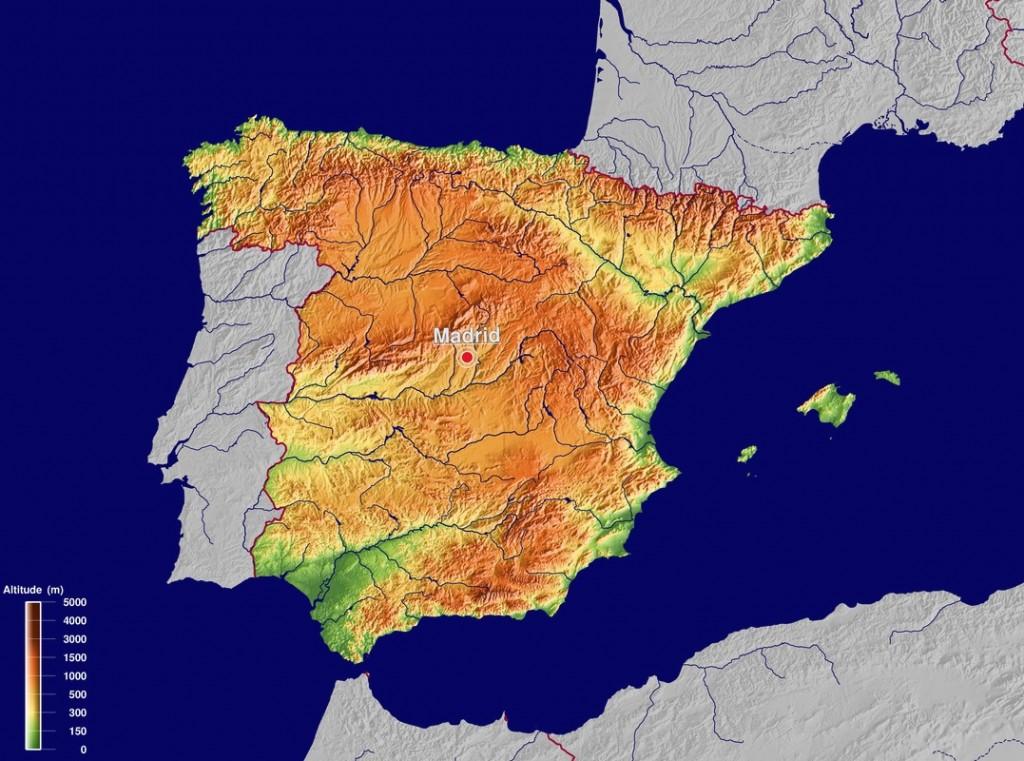 carte Espagne - source GinkgoMaps – http : //www.ginkgomaps.com