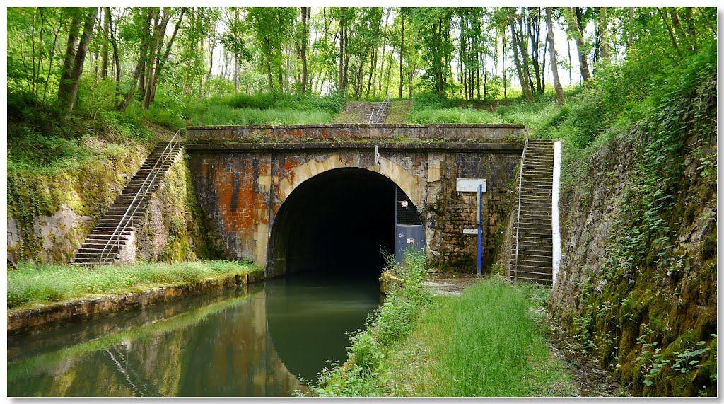 Tunnel de Balesmes-sur-Marne, entrée nord