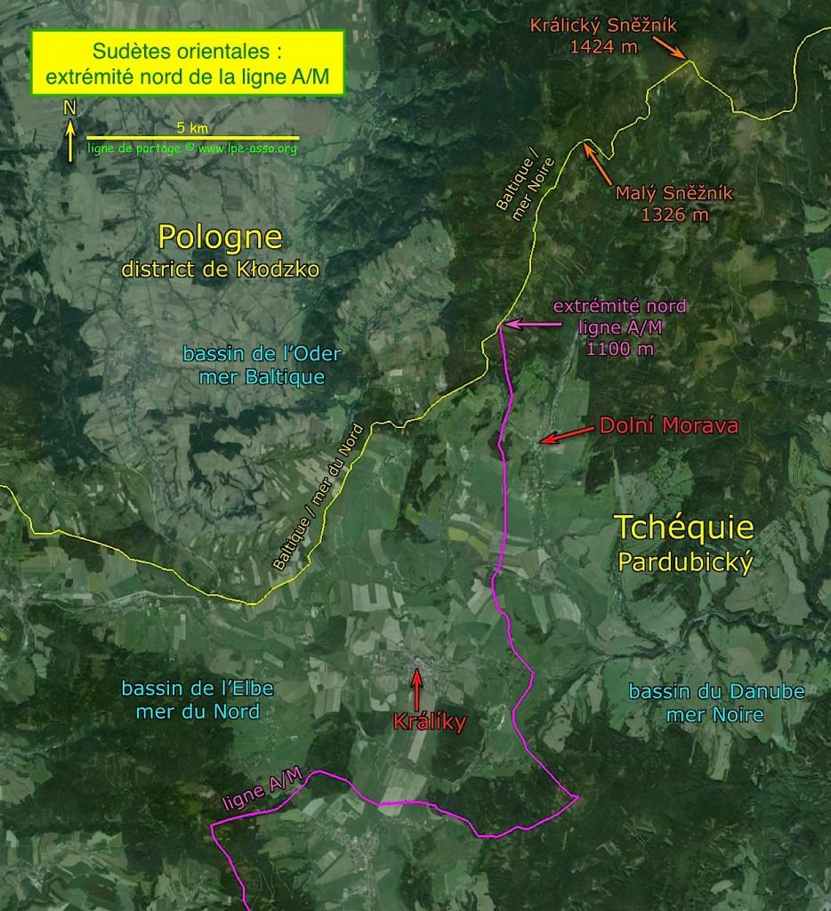 Point de départ de ce périple au Králický Sněžník (1424 m)