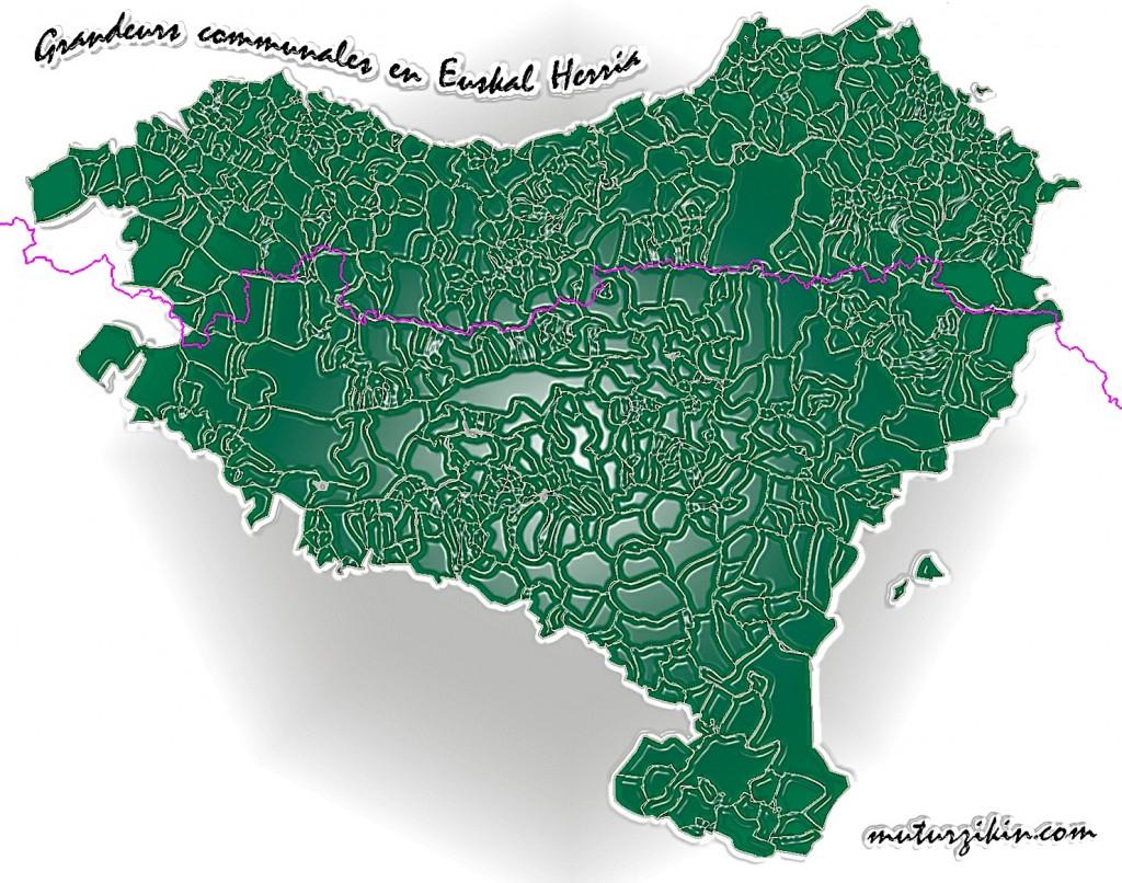 Euskal herria communes et ligne