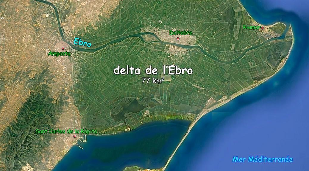Carte delta ebro