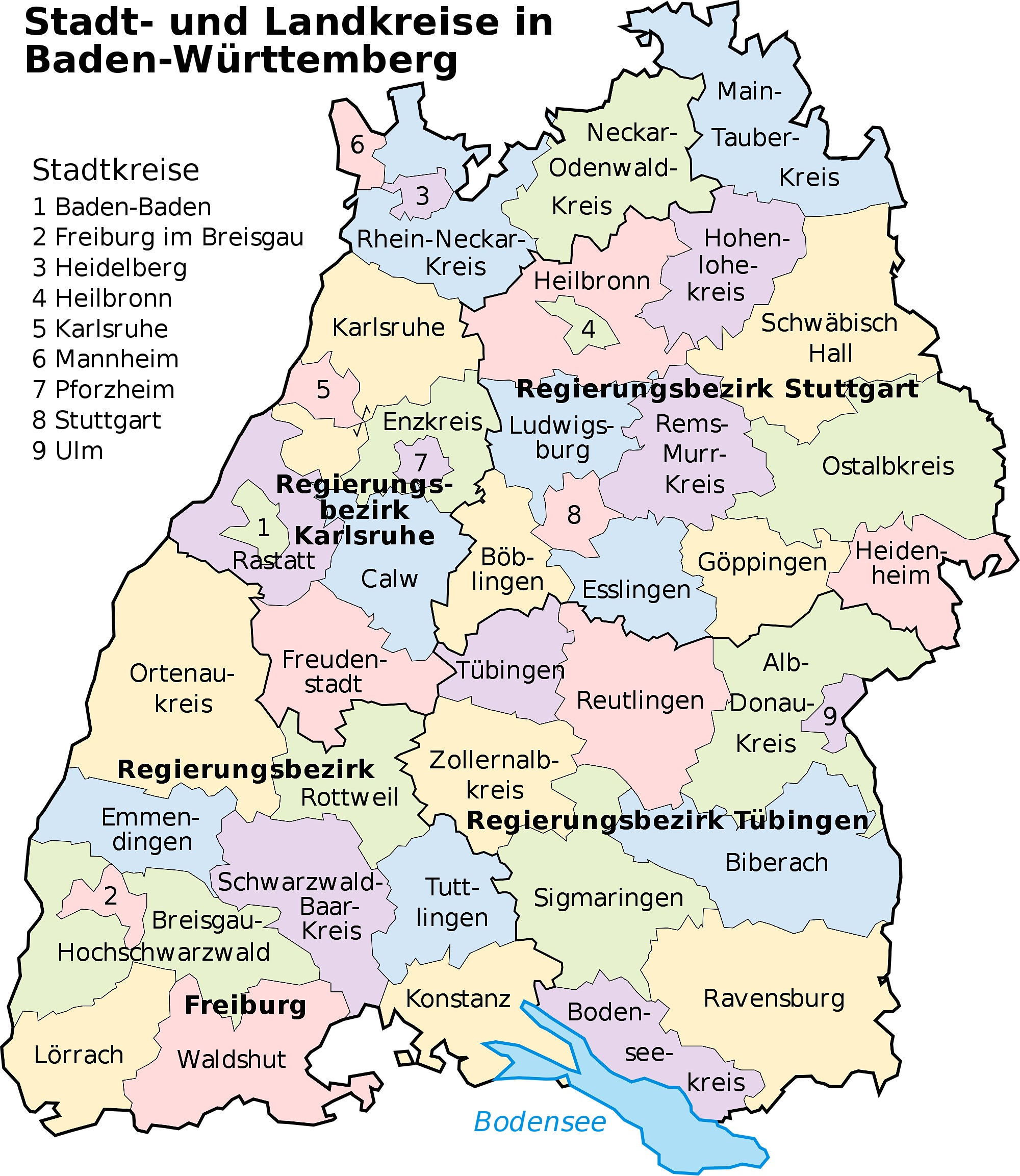 Baden-Württemberg, source wikimedia