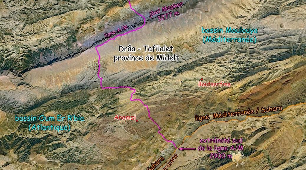 Carte extremite sud ligne