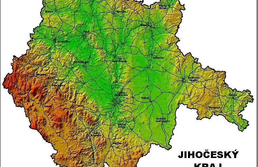 Carte jihocesky