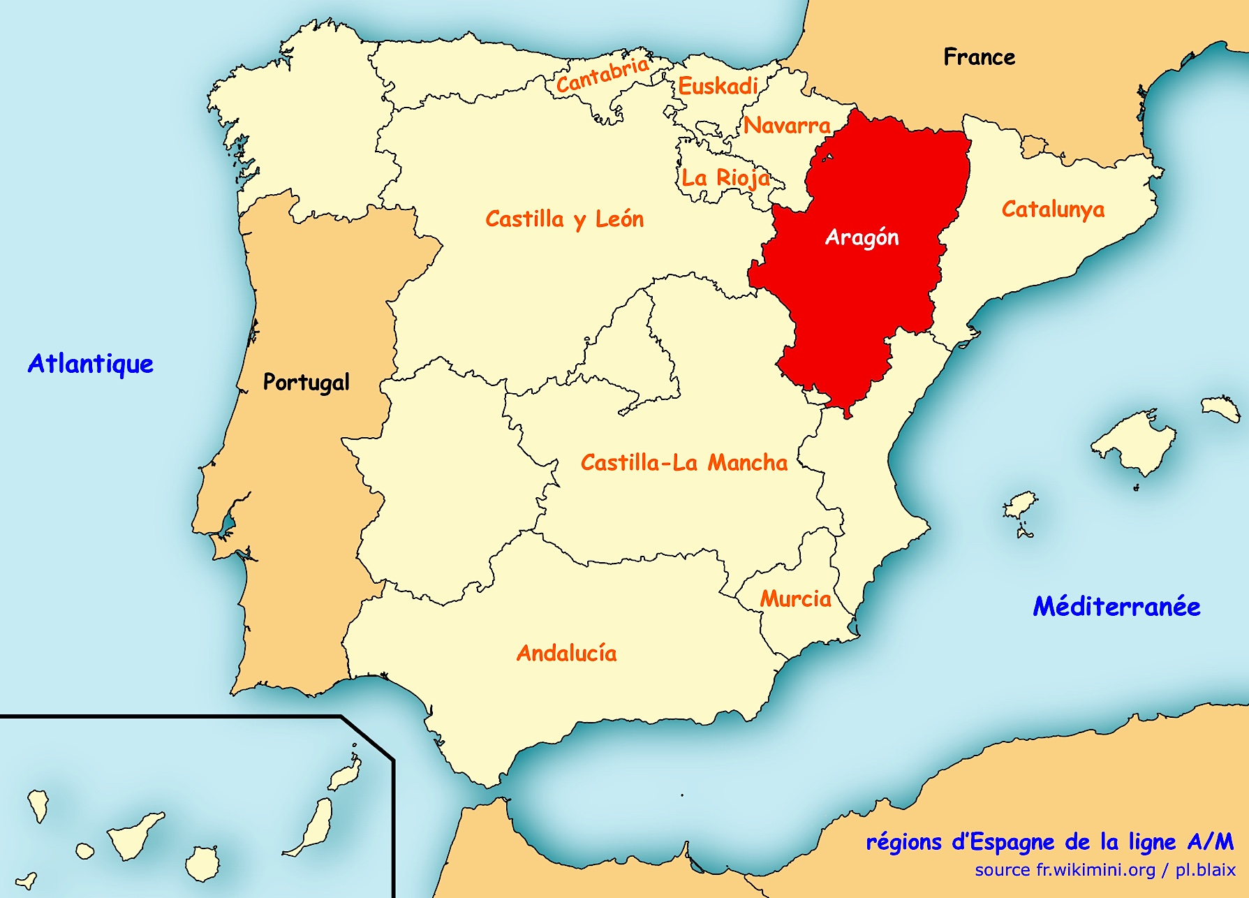 Aragón | Ligne de Partage