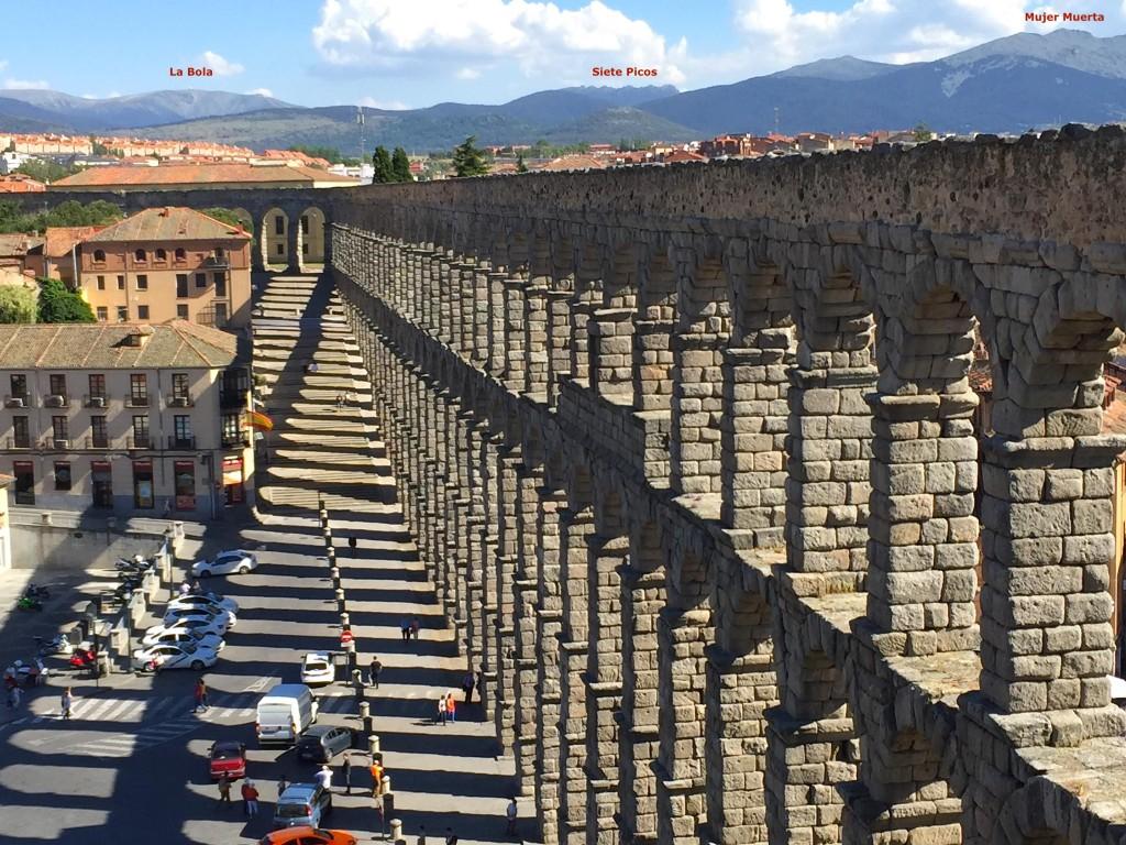 Cet acqueduc de Segovia, c'est 2000 d'histoire...