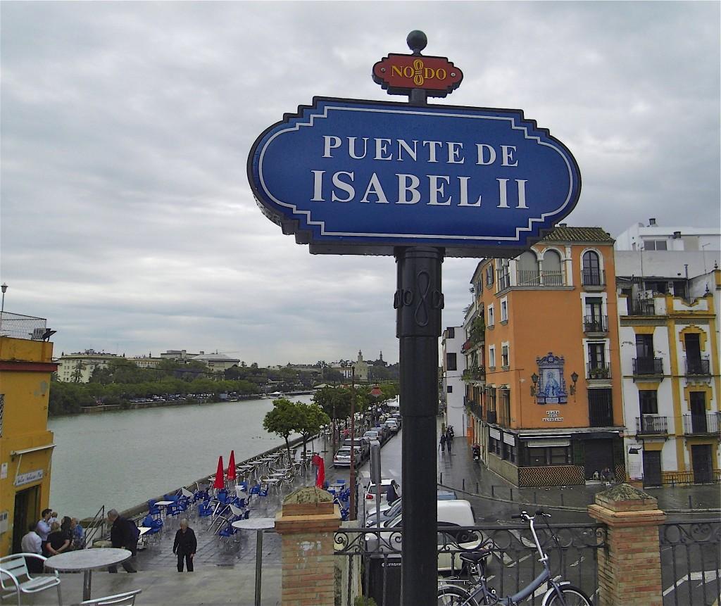Le Guadalquivir à Sevilla, départ de la Via de la Plata (source PL. Blaix)