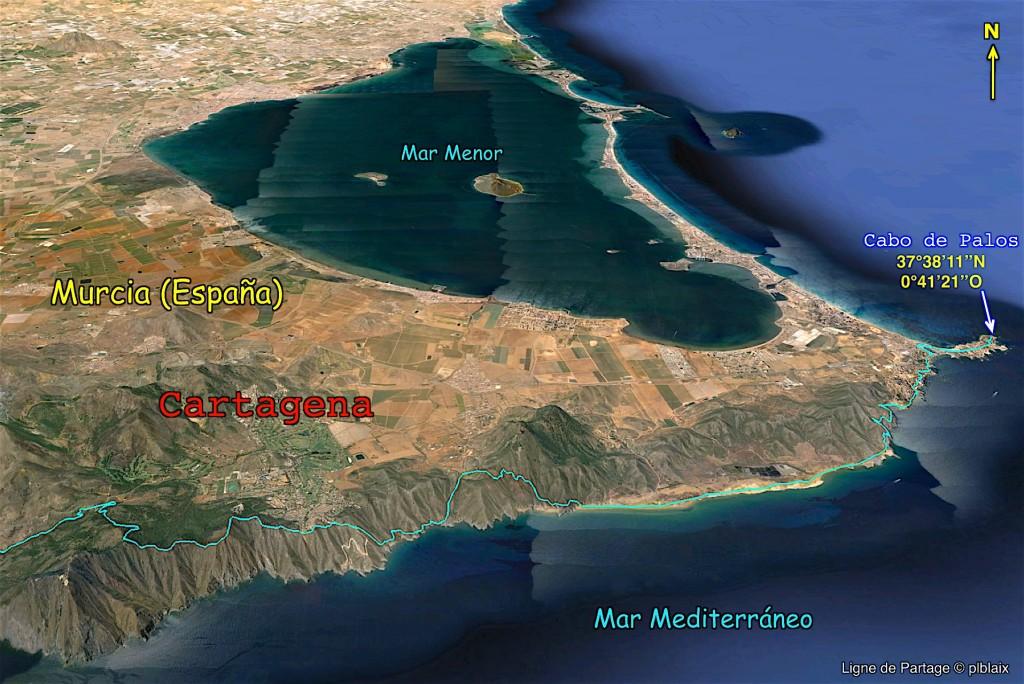 Fin du chemin depuis le Cabo São Vicente.