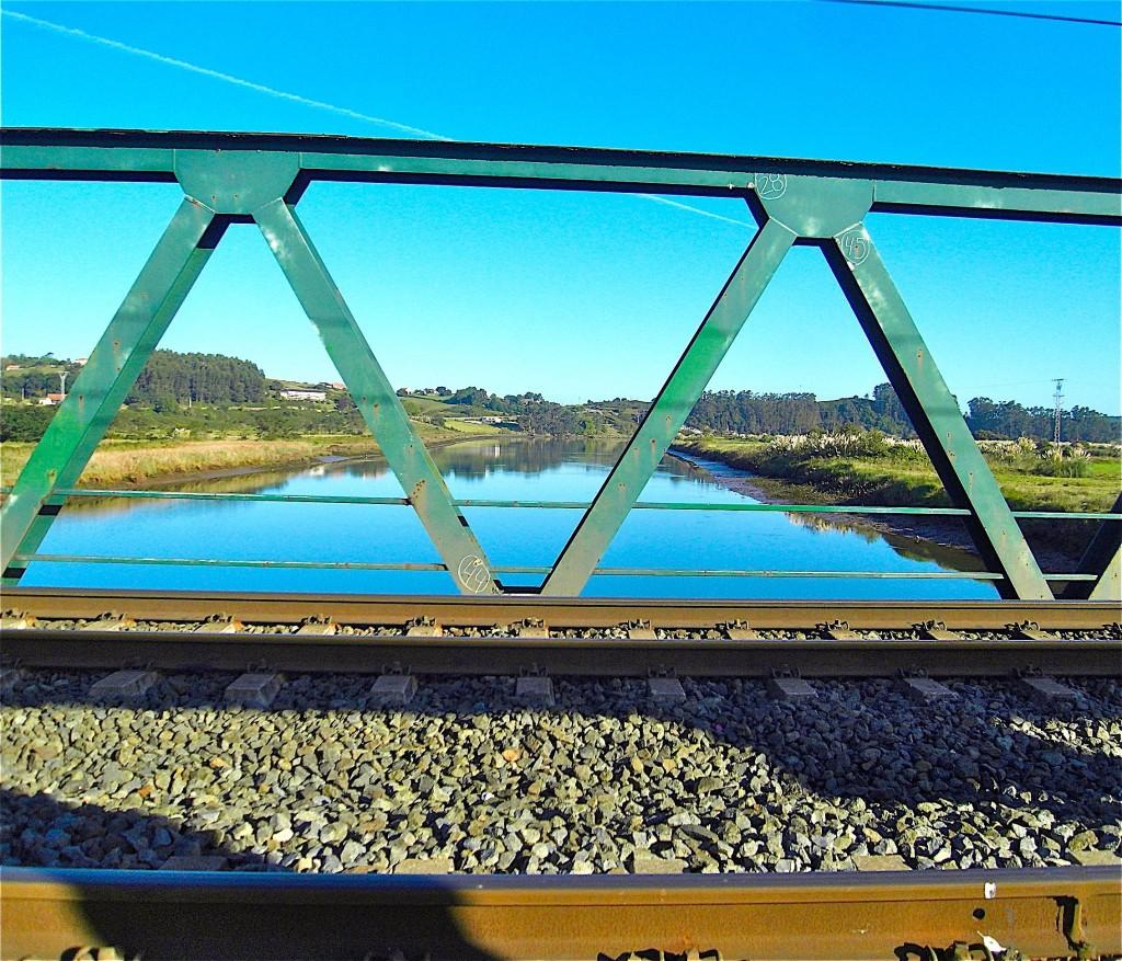 Sur le pont du río Pas