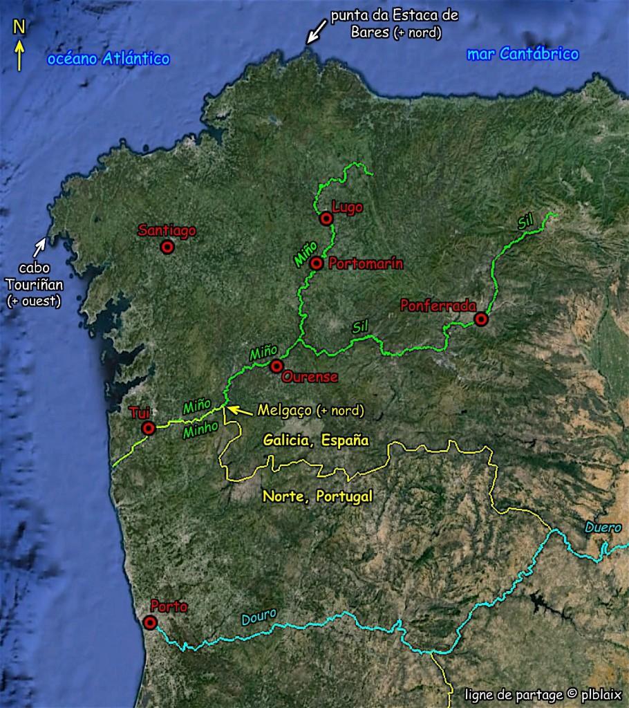 Río Miño / Minho - Sil, en Galicia, orphelin de ligne A/M.