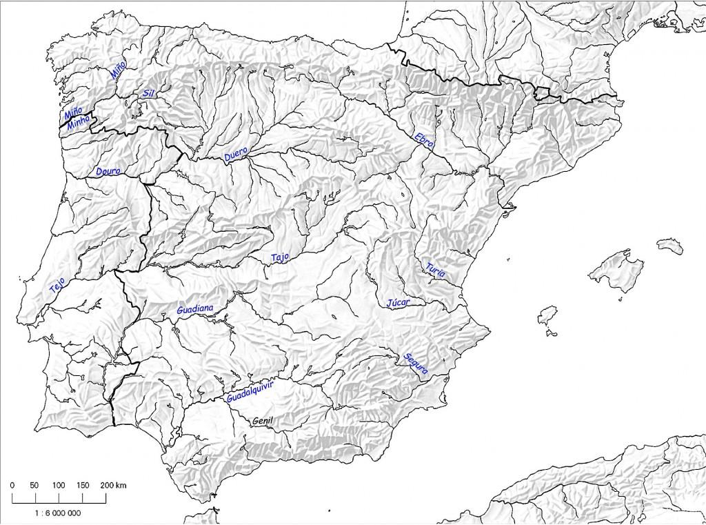 En haut à gauche de la Péninsule, la Galicia et le Miño-Sil. © edk / plblaix
