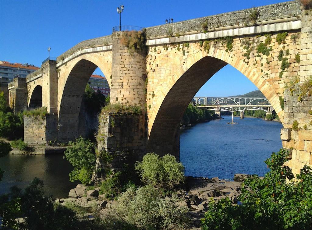 Pont romain sur le Miño à Ourense ©plblaix