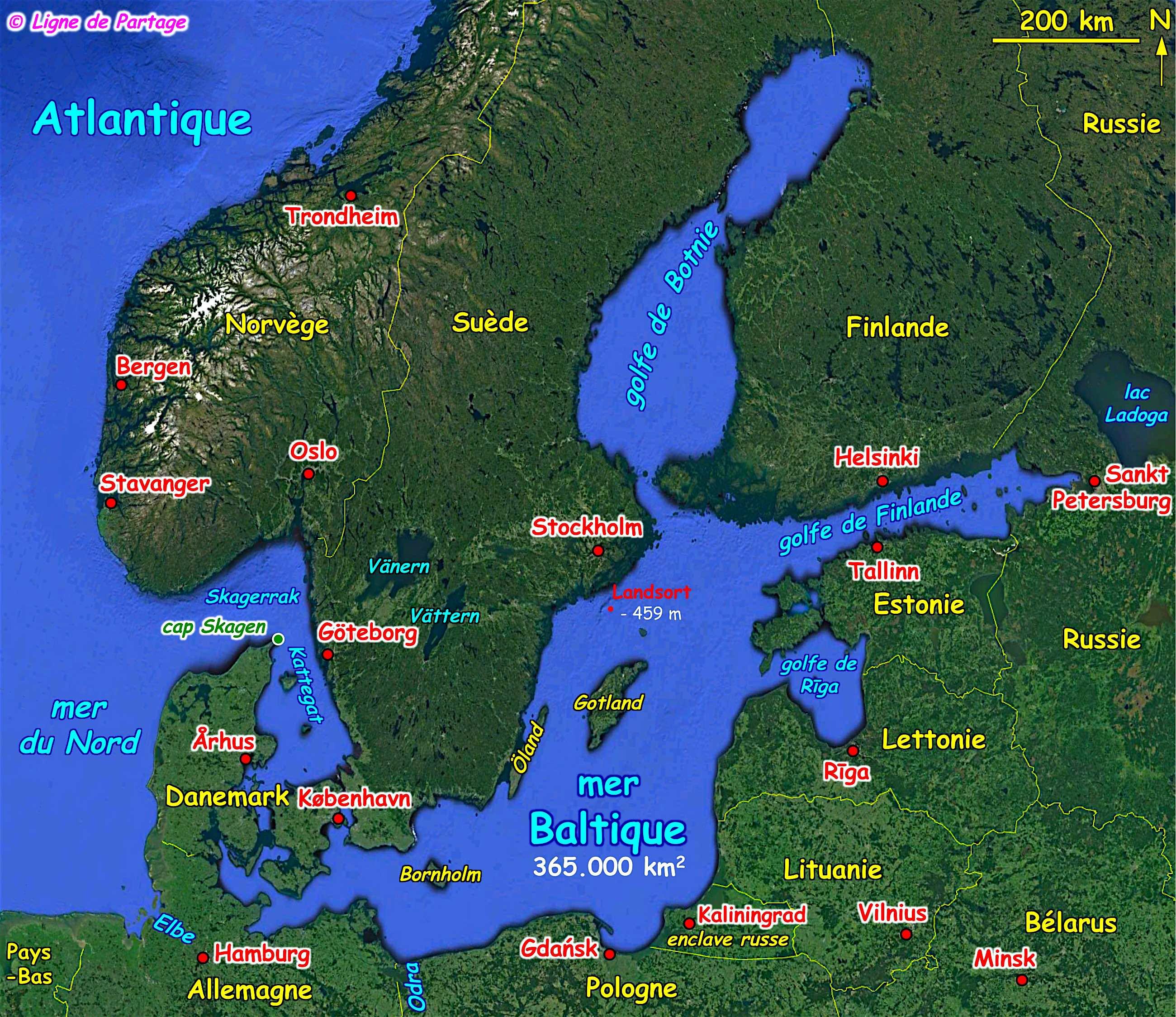 la mer baltique