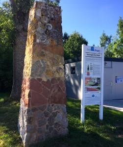 A Hüfingen, on s'intéresse à la géologie et au partage des eaux...