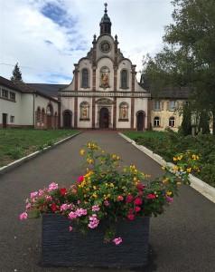 Eglise du couvent des Bénédictines de Bellemagny