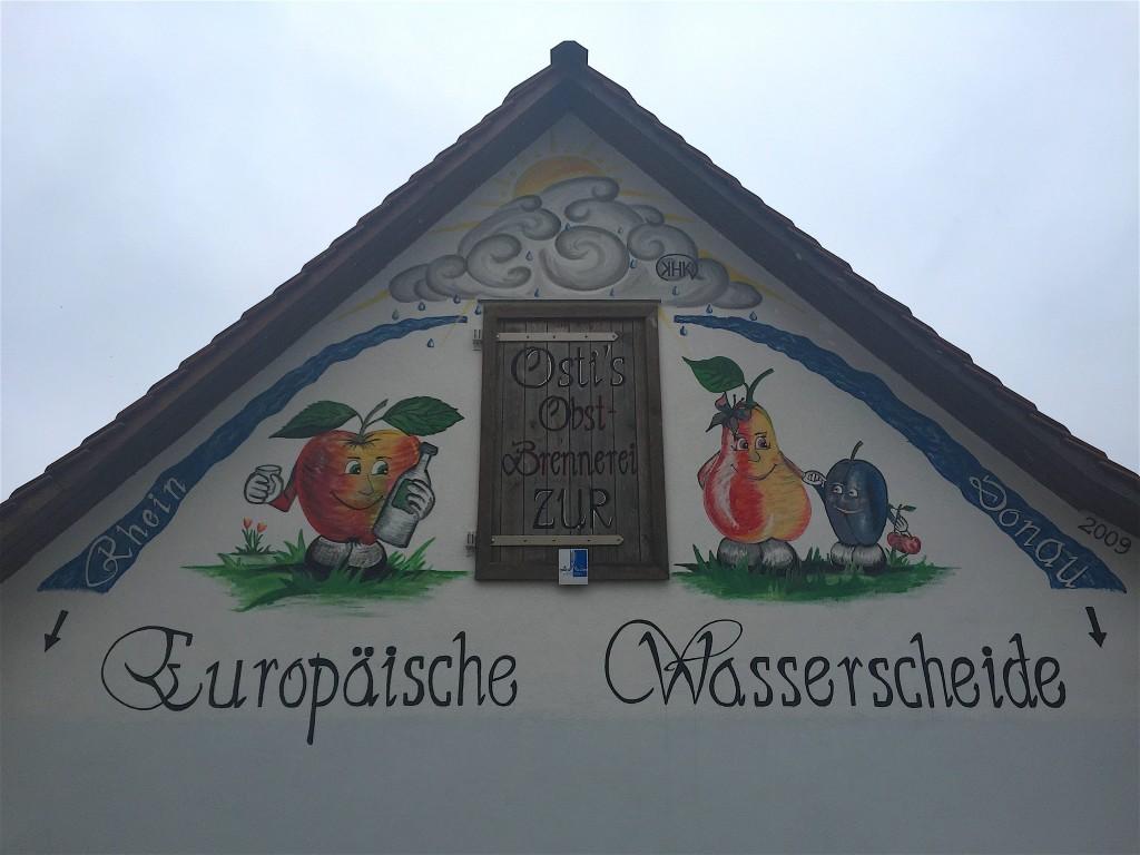 A Lengenfeld, sur le chemin de la ligne avec les amis d'Ansbach